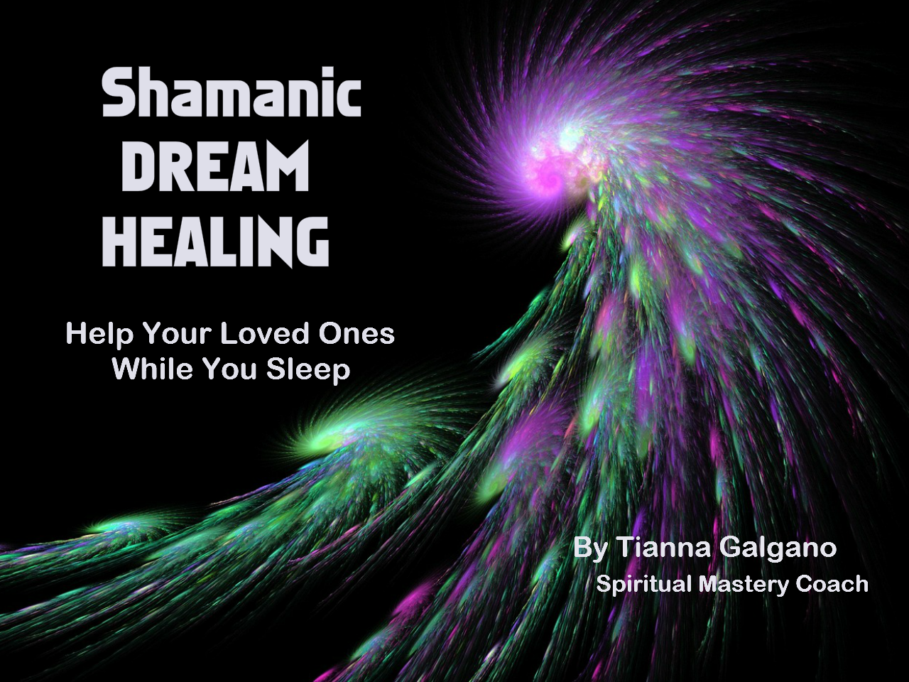 Shamanic Dream Healing book cover